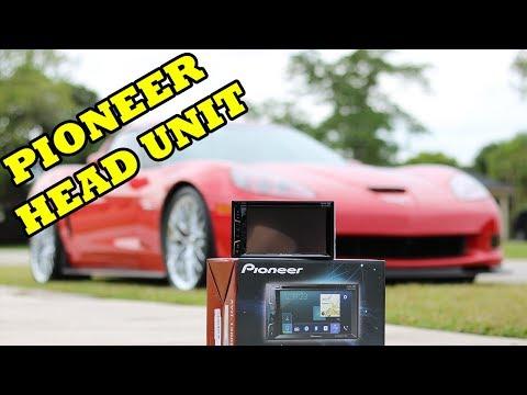 2008 Z06 - Pioneer Head Unit + Back-up Camera Installation