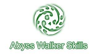 Dragon Nest Abyss Walker Skills