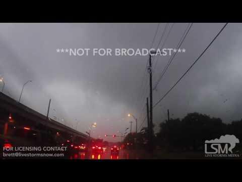 04-02-2017 Austin, TX - Tornado Warned Storm