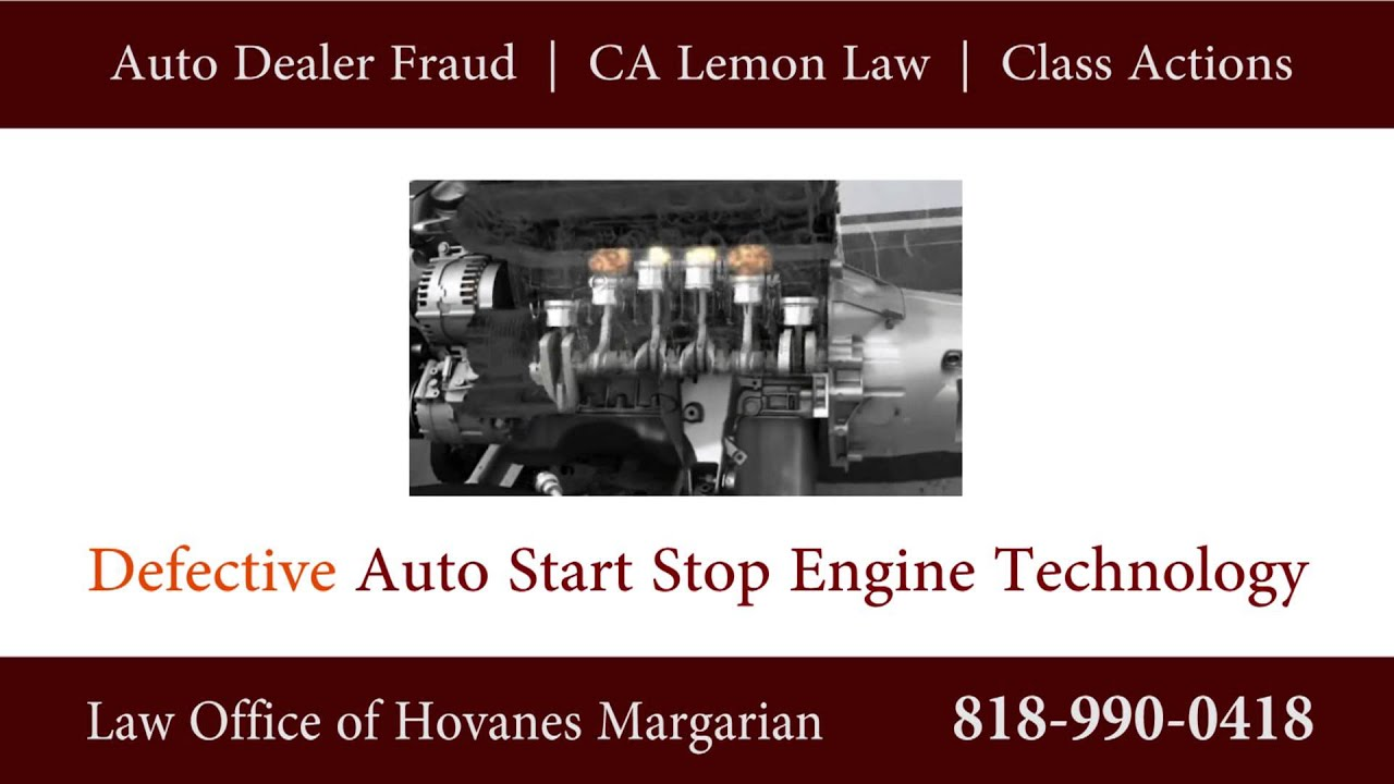 Auto Stop Start Engine Defects on BMW Porsche Ford & Other Makes