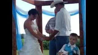 Kayla and Andy's Wedding Ceremony