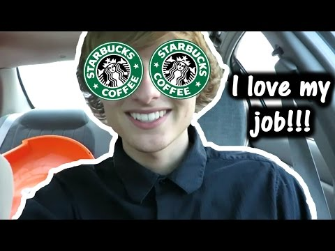 MY FIRST DAY WORKING AT STARBUCKS!