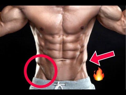 Como marcar la v en el abdomen hombre