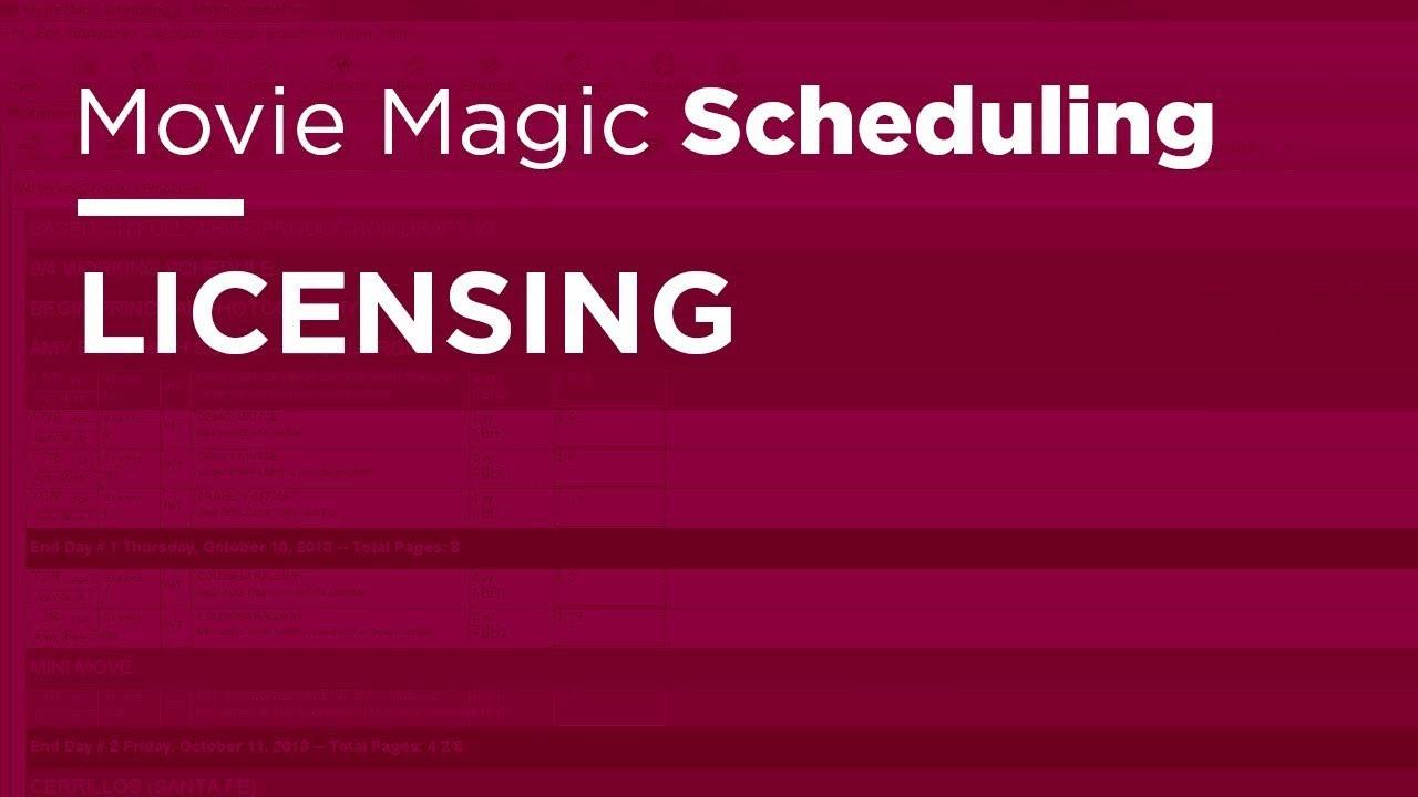 movie magic scheduling crack download