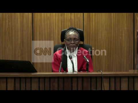 PISTORIUS TRIAL: JUDGE TO ANNOUNCE VERDICT