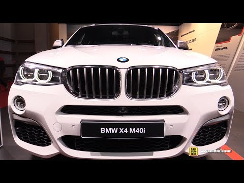 2017 BMW X4 M40i - Exterior and Interior Walkaround - 2016 Paris Motor Show