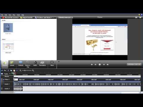 Как сделать заставку для видео