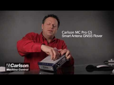 Carlson Machine Control GNSS/GPS Receiver - MC Pro 500 Overview