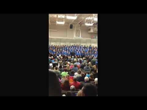 Liberty Benton Middle School Choir - Braydon Beucler - Christmas Concert 2014 - Let It Go