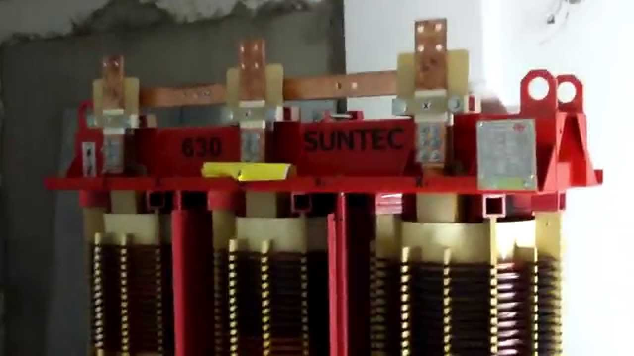 transformador seco de media tension electrico - YouTube