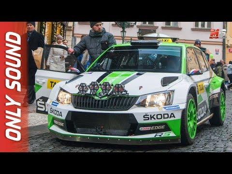 NEW SKODA FABIA R5 TAXI 2018 - PRAGA - RALLY STYLE TAXI DRIVES IN PRAGUE