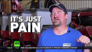American farmers take the fall for US-China trade war... yet Trump believes benefits are to come