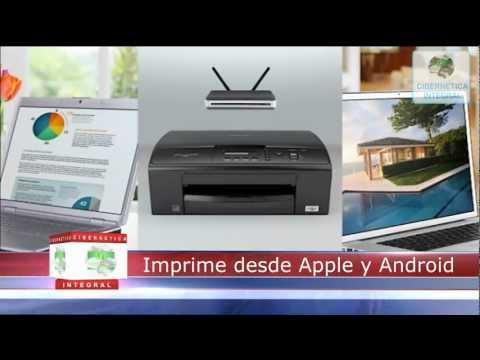 Multifuncional Brother DCP-J140 Impresora Scanner Copia Inalambrico con cartuchos recargables