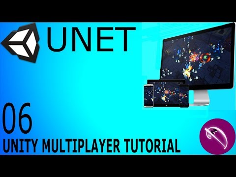 06. Unity Multiplayer Tutorial (UNET Lobby Manager)