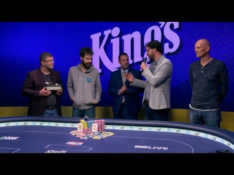 2017 WSOP Europe Event #10 - High Roller for One Drop No-Limit Hold'em. Final Table