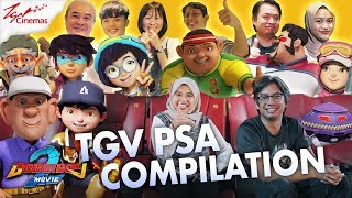 Download lagu BoBoiBoy Movie 2™️ | TGV PSA COMPILATION