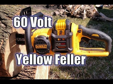 dewalt chainsaw 60v. dewalt dccs670x1 flexvolt 60v brushless chainsaw review dewalt 60v t