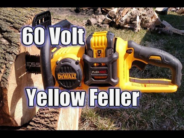 DEWALT DCCS670X1 FLEXVOLT 60V Brushless Chainsaw Review
