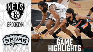 Nets vs Spurs HIGHLIGHTS Full Game | NBA March 1