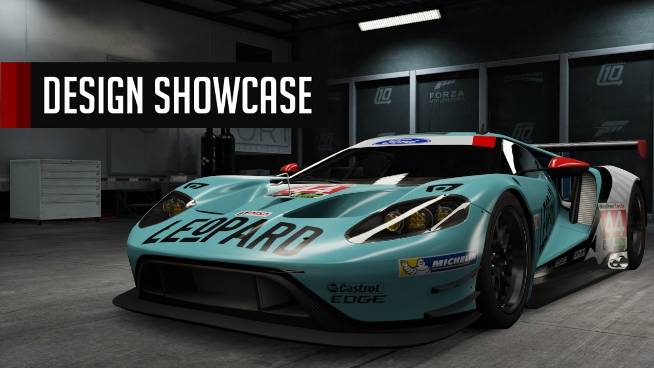 Populaire Forza 6 Design Showcase S2 | Leopard Ford GTLM - YouTube GU05