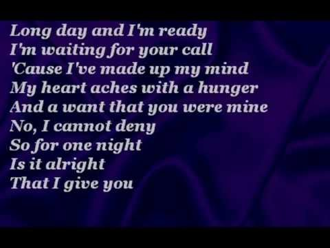 The Corrs  One Night with lyrics