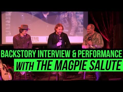 Backstory Presents: The Magpie Salute Live from The Cutting