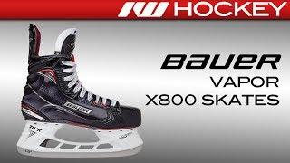 2017 Bauer Vapor X800 Skate Review