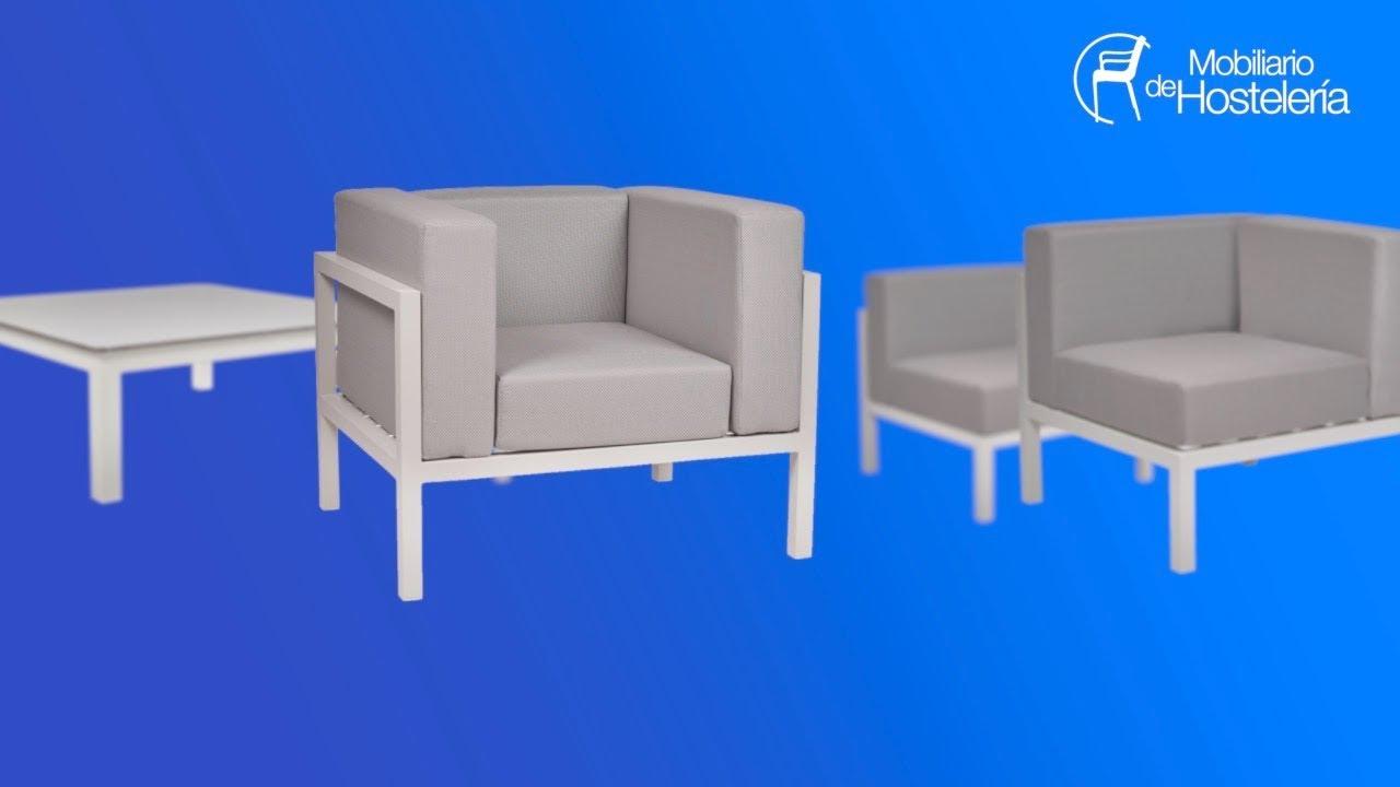 Mobiliario De Hosteleria Conjunto De Sofás Para Terraza Y Lounge Bar Marine