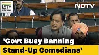 Rename Schemes To Shut Down India, Sit Down India, Shut Up India: Shashi Tharoor