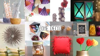 TOP 20 Home Decor Ideas You Can Easily DIY | DIY Room Decor