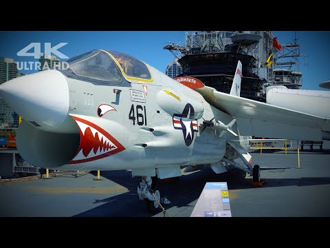 USS Midway Aircraft Carrier / San Diego