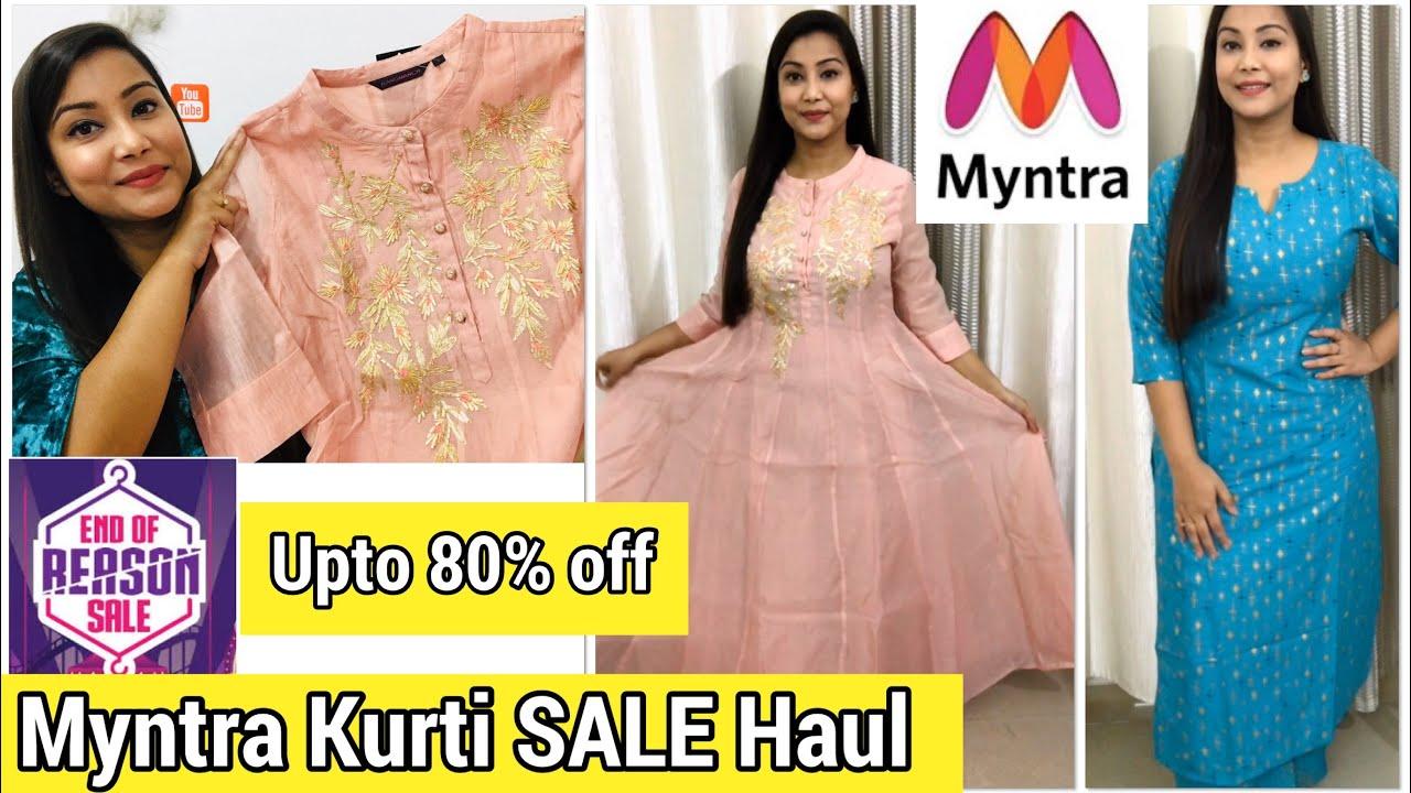 Myntra Kurti Haul Myntra Eors Sale Myntra Online Shopping