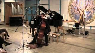 Sperger: Sonate D-Dur, T 40 - Felix F. J. Maiwald, Bass - Ekaterina Willewald, Piano - LIVE
