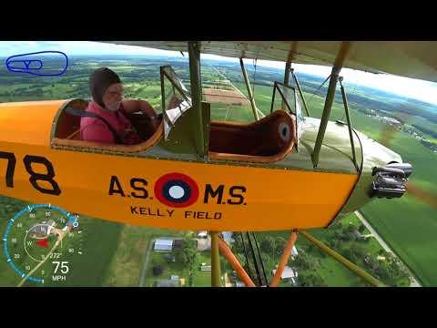 Brodhead 2017 Pietenpol flying