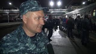 Новосибирский полицейский вернулся с Кавказа и сделал предложение своей девушке