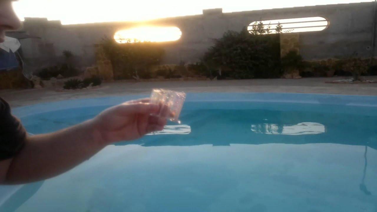 Tutorial como controlar el cloro y el ph de una piscina for Subir ph piscina
