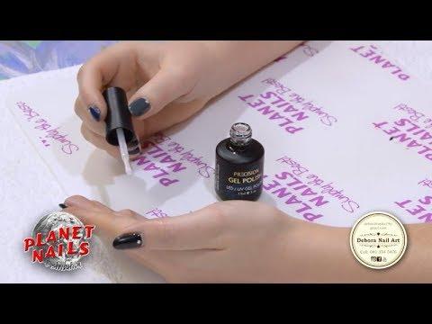 planet nails gel polish application  nailstip