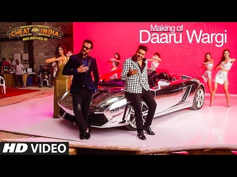 Making Of Daaru Wargi Video | CHEAT INDIA | Emraan Hashmi | Guru Randhawa | Shreya Dhanwanthary