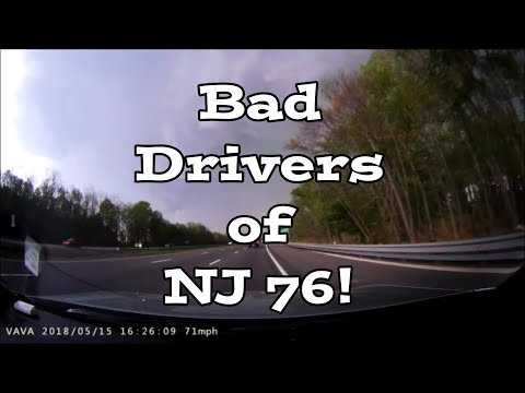 Bad Drivers of NJ 76! Driving After A Storm 101 - HD