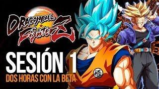 2 horas con la beta de Dragon Ball FighterZ