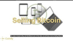 Selling Bitcoin - Coinify Trade