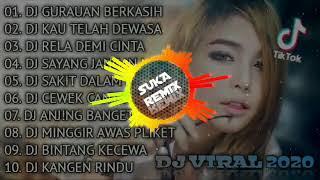 DJ TERBARU 2021 - DJ TIKTOK TERBARU 2021 - DJ VIRAL TERBARU 2021 - DJ GURAUAN Berkasih