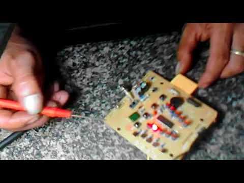 Hướng dẫn sửa mạch điều khiển quạt senko tr828