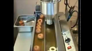 видео Производство пончиков