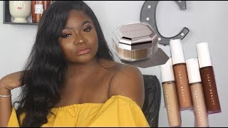 New Fenty Beauty Instant Retouch Concealer & Setting Powder ... And A New A Foundation Shade
