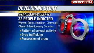 32 Indicated In Steroid Ring Bust