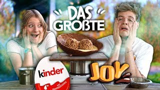 THE BIGGEST KINDER JOY IN THE WORLD - Emy's Backstübchen | Joey's Jungle