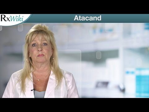 Information on Atacand a Prescription Medication Used to Treat High Blood Pressure
