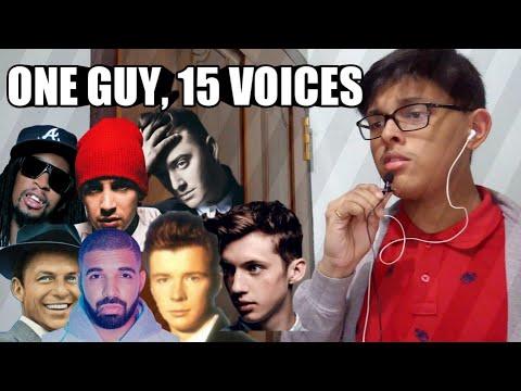 ONE Guy , 15 Voices Sam Smith ,Tyler Joseph ,Drake