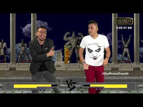 Duelo de chistes entre Lokillo y Morgan al estilo Mortal Kombat